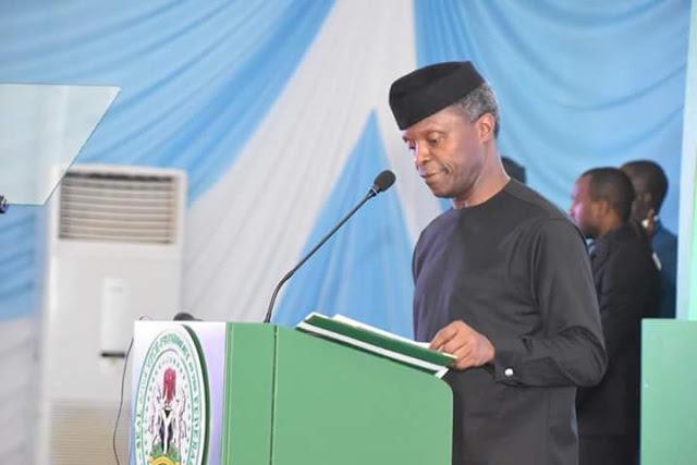 Acting President Yemi Osinbajo SAN