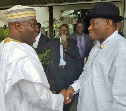 Goodluck Jonathan and Atiku