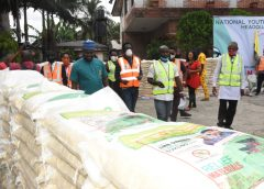 COVID-19: FG donates 600 bags of Rice to Vulnerable Youths