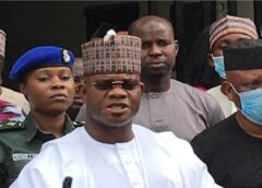 COVID-19: Yahaya Bello reveals billions Governors received from Buhari, World Bank