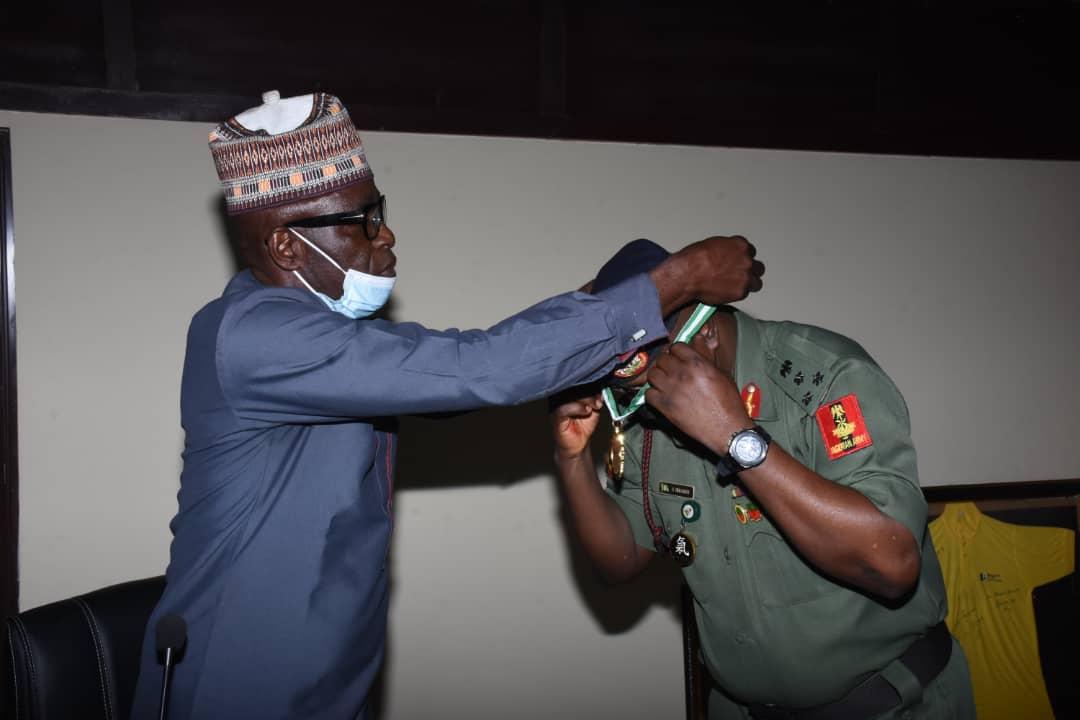 NYSC DG bags Africa Meritorious Service Award – Emporium Reporters
