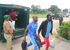 Nigerian Navy hands over convicted pirates to Correctional Services